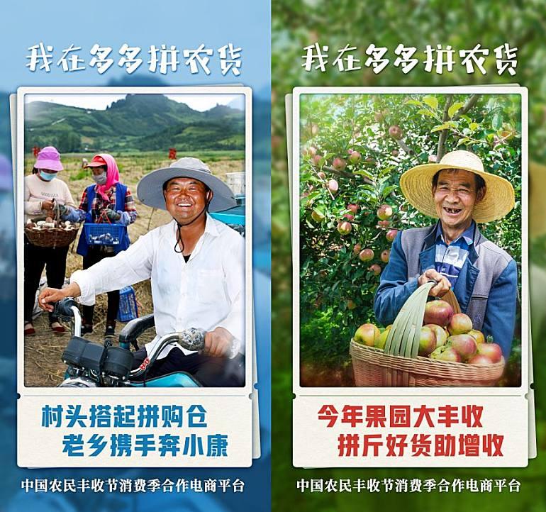 农业农村部宣布启动2020年中国农民丰收节消费季,拼多多将承办此项重大活